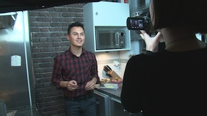 Cooking: the housewife stars of the Net