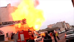 Fire, injury, serious accident: the marine-firefighters of Marseille on alert