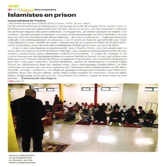 Islamists in prison – Télérama