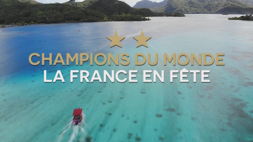 WORLD CHAMPIONS, FRANCE IN PARTY
