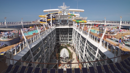 THE SYMPHONY OF THE SEAS: CRUISING ON THE GIANT OF THE OCEANS