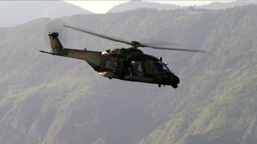 HELICOPTERES DE COMBAT : OPERATION EXFILTRATION